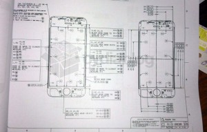 iPhone 5 Diagram Leak