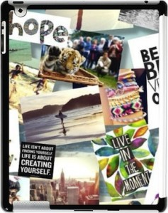 Create Your Own iPad Case with a Custom Photo Collage!