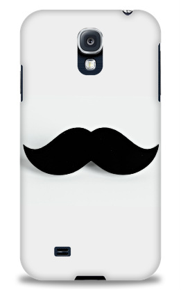 Keep your Samsung Galaxy S4 Case Up With the Mustache Trend
