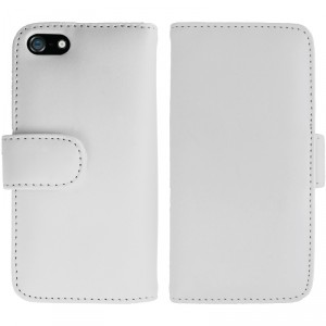 iPhone 5 / 5S Full Design Wallet Folio Case White