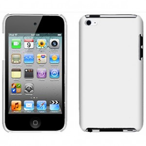 iPod Touch 4 Snap-On Case White Matte